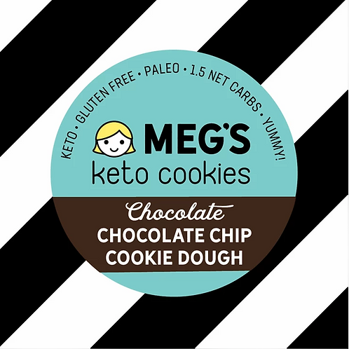 Meg's Keto Chocolate Chocolate Chip Cookie Dough
