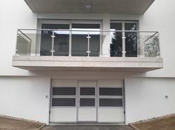 Porte sectionnelle-752-RAL9010_Yverdon (