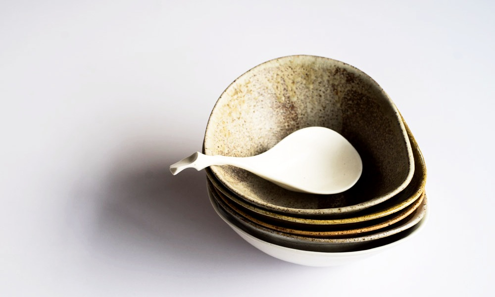 Distorted Bowls, Plates and Spoons