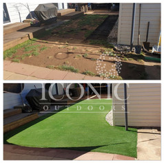 Artificial Turf Install