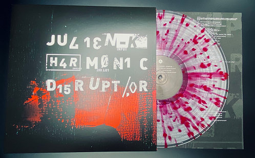 Harmonic Disruptor — Limited Edition Colored Splatter Vinyl LP