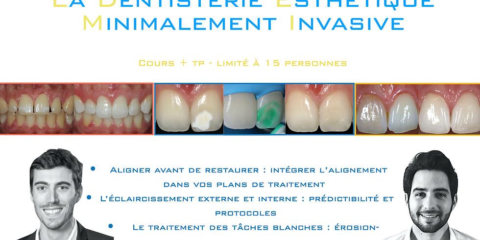Dentisterie Esthétique Minimalement Invasive