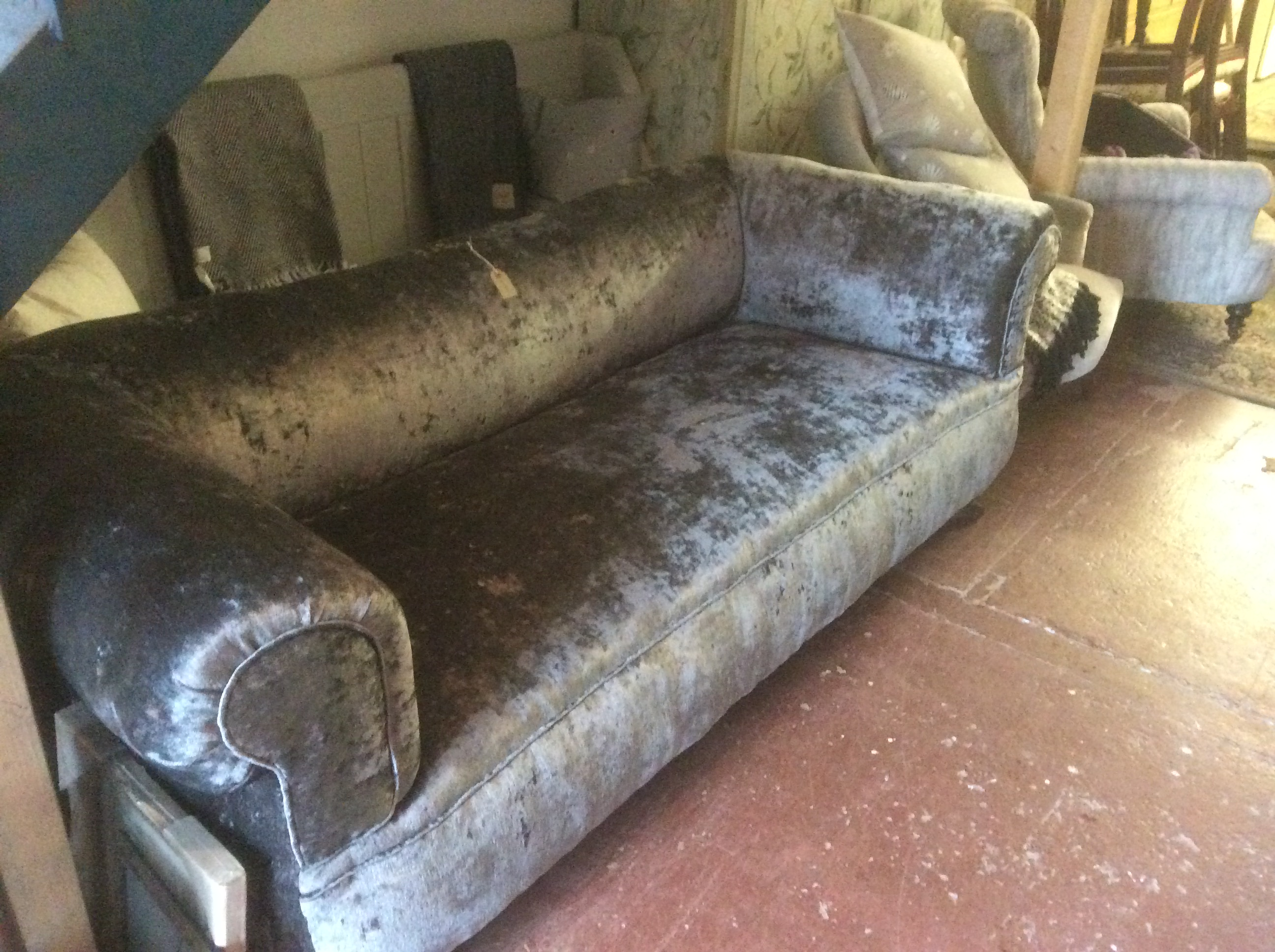 Antique 3 Seater Chesterfield