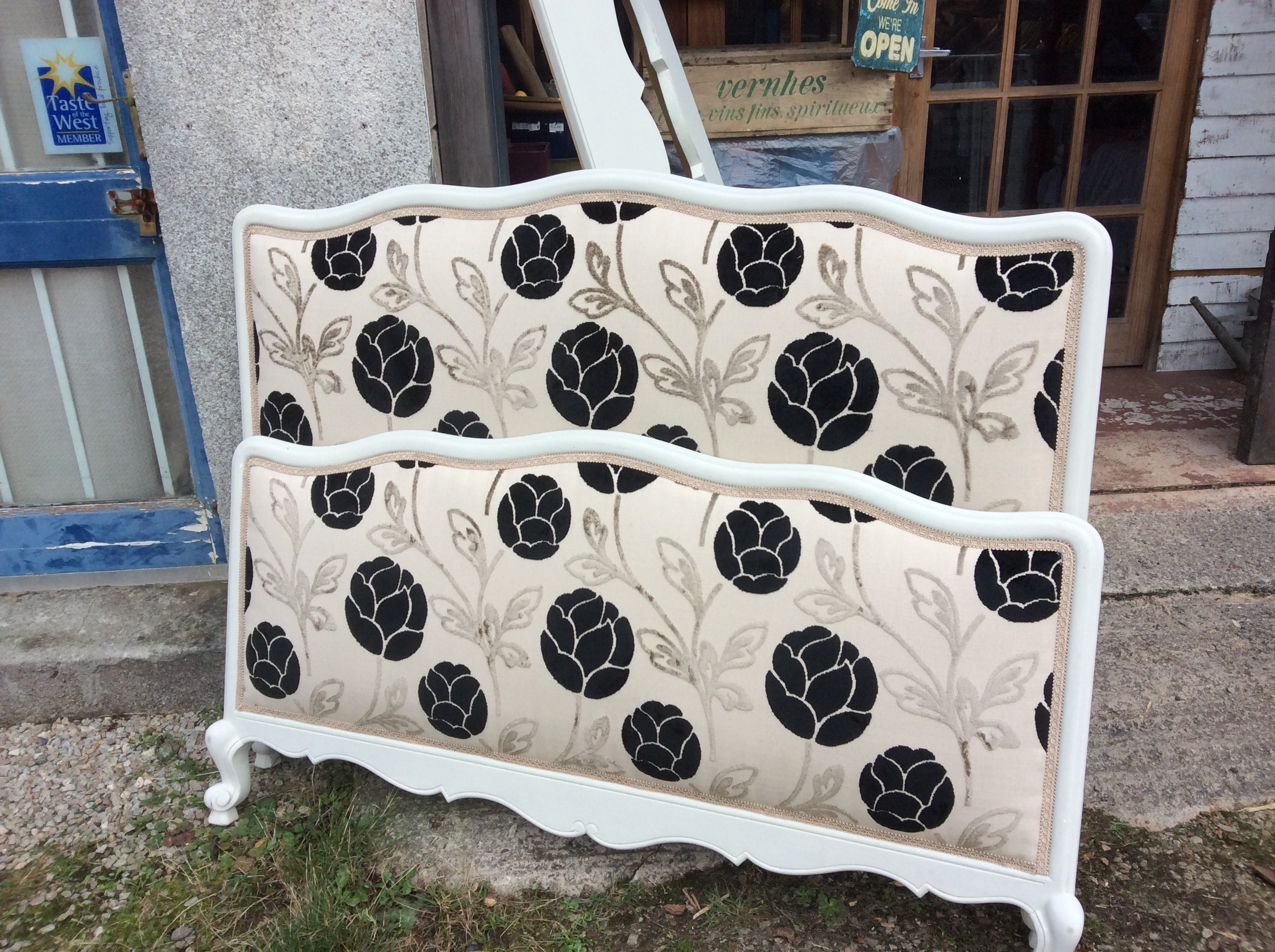 Fresh Vintage Double Bed