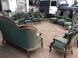 French Rosewood Salon Set