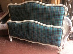 Vintage French Double Bed