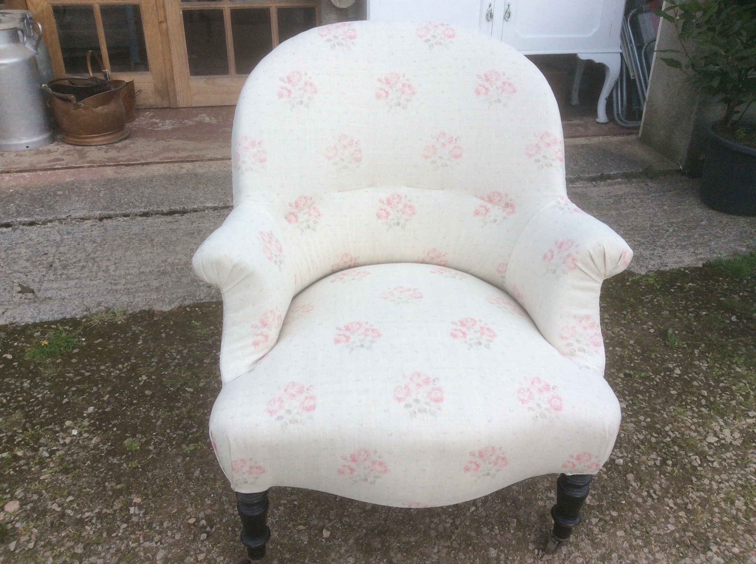 French Napoleon Style Chair