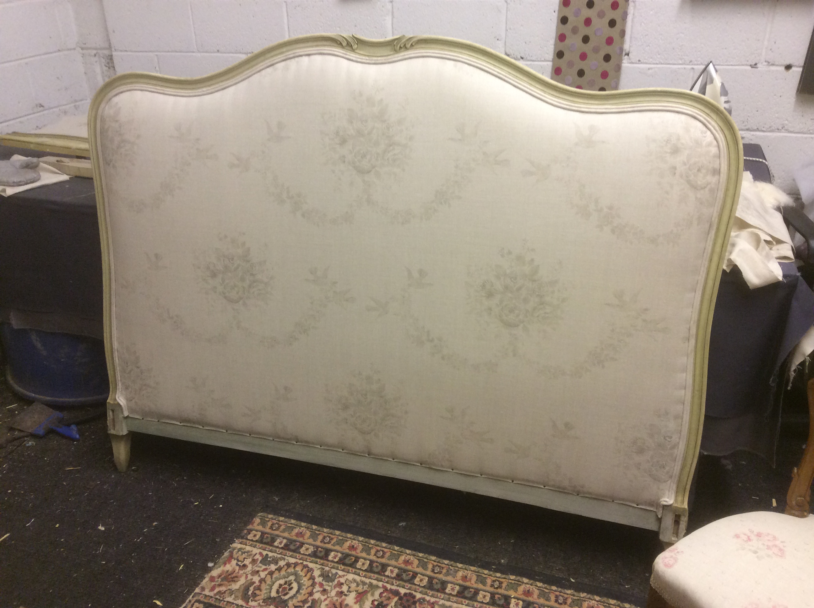 Antique French Double Bed Frame