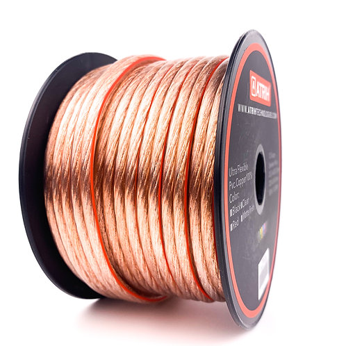 12 Gauge 50ft OFC Car & Home Audio Speaker Wire