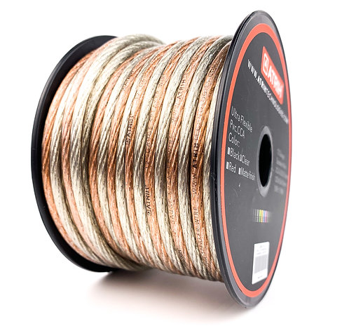 12 Gauge 50ft CCA Car & Home Audio Speaker Wire