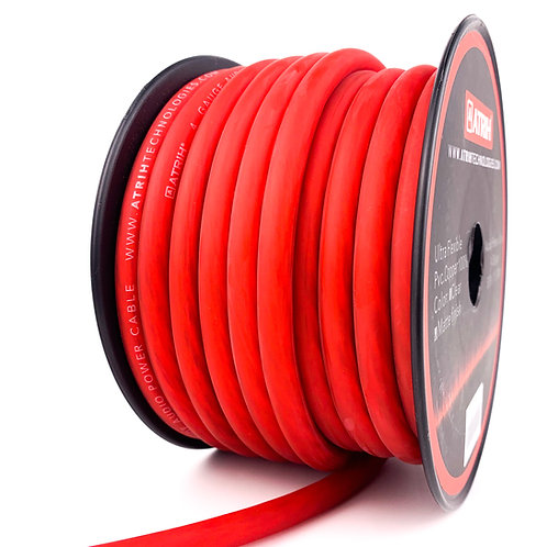 4 Gauge 50ft OFC Car Audio Power Cable Wire