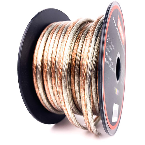 14 Gauge 50ft CCA Car & Home Audio Speaker Wire