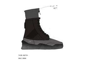 Sketch Three (chosen sole)