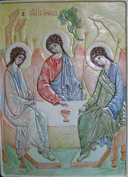Троица фаянс