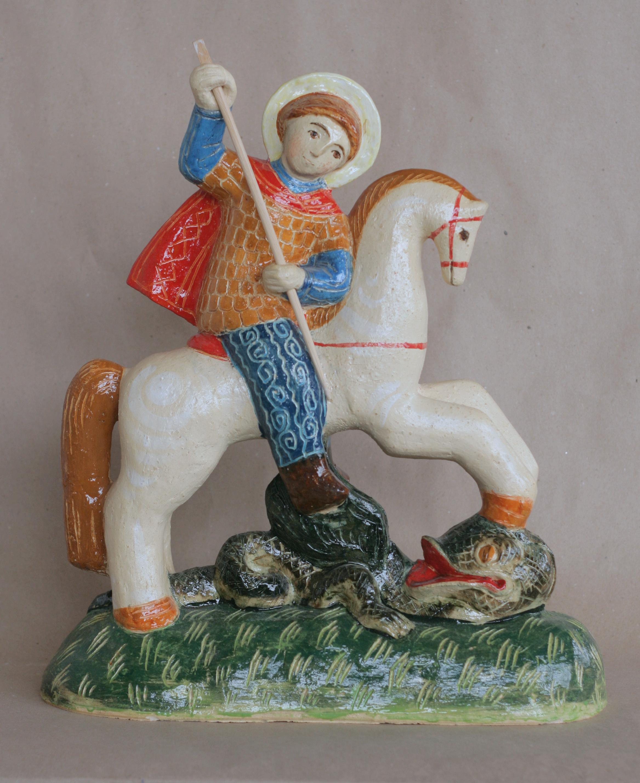 Георгий Победоносец шамот