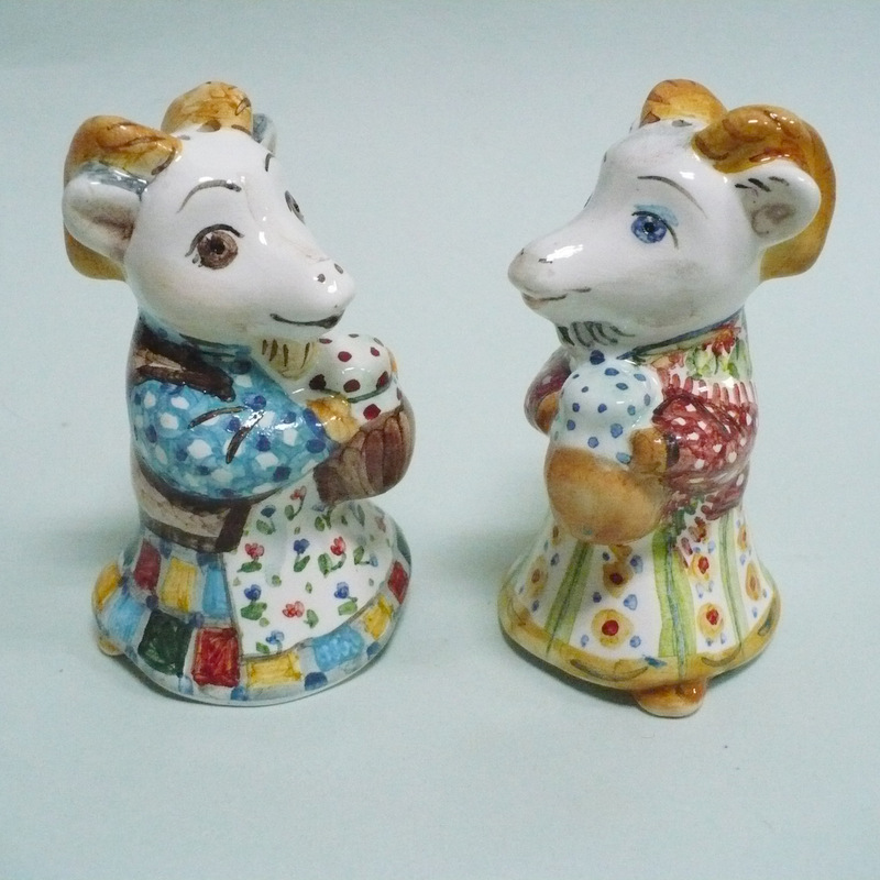 ёлочная игрушка Коза-Дереза