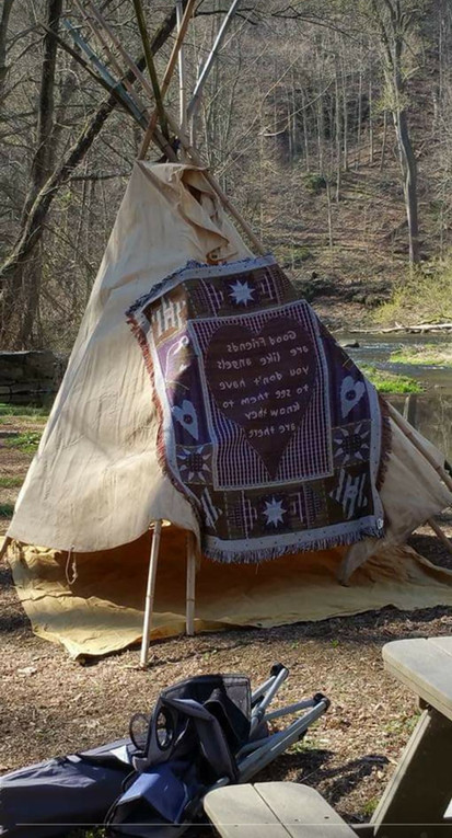 The Teepee for the Candidate