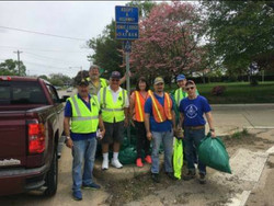 The Adopt-a-Highway Crew Finished!