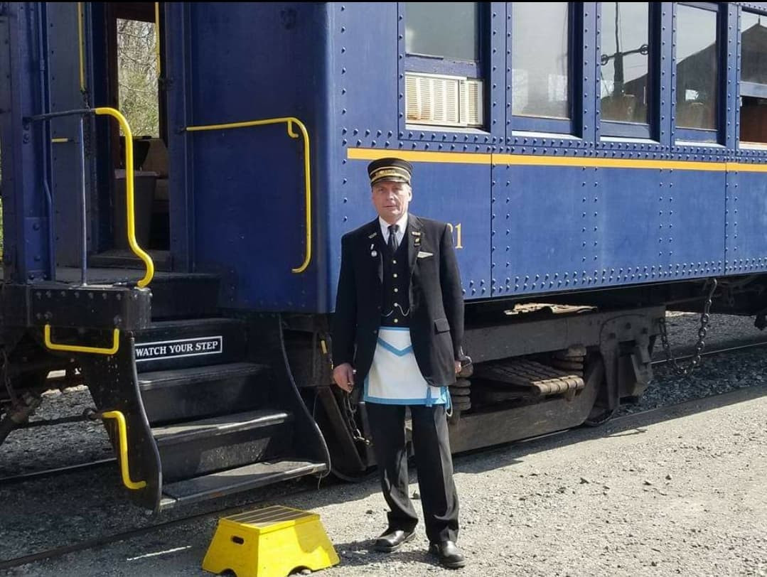 The Train Conductor: A Master Mason from New Jersey