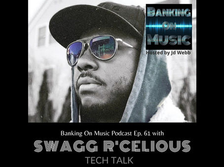 Tech Talk with Grammy winner, producer, songwriter, executive and professor, Swagg R'Celious