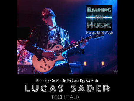 Tech Talk with producer, musical director, and Grammy nominated session guitarist, Lucas Sader