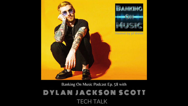 Tech Talk with songwriter, producer, & lead singer of Rad Horror,  Dylan Jackson Scott