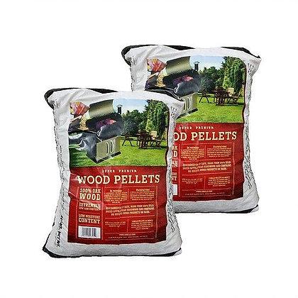 2 OAK Wood Pellets-40 lbs