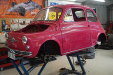 Fiat Bambina Full Restoration