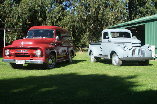 Ford F100 Van and Chev Pick up Full Restoration