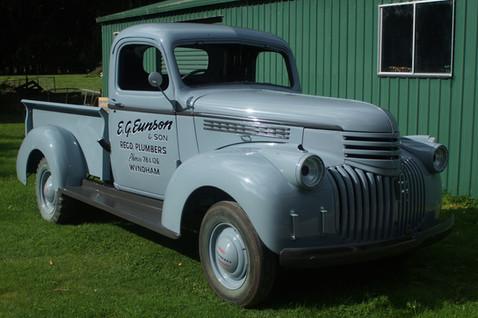 1948 Chev Pick Up Restoration