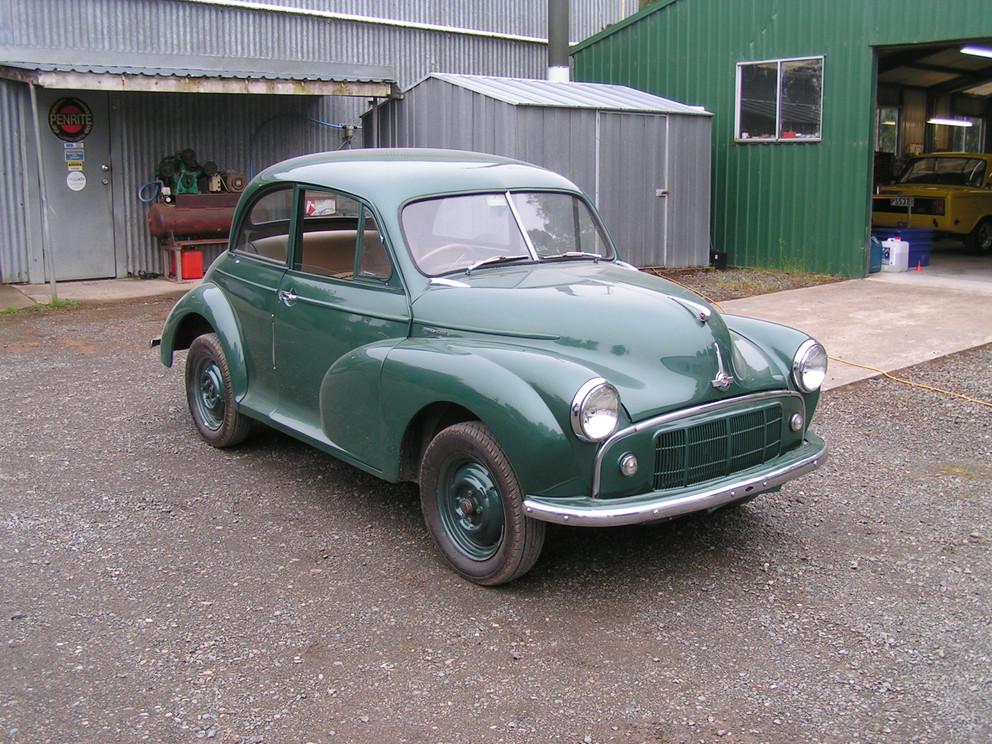Morris Minor Full Restoration