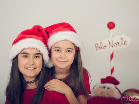 La navidad de Alba y Sara