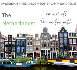 canal and houses promotional image for On and Off the Beaten Path tour
