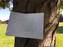 Poem for a stranger