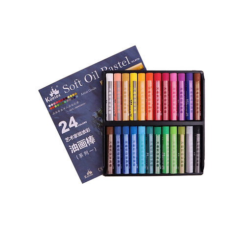 Kuelox oil pastels 24 colors