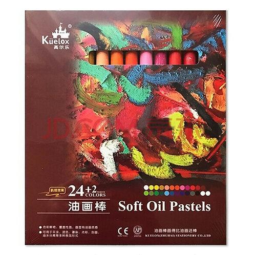 Kuelox oil pastels 24+2 colors