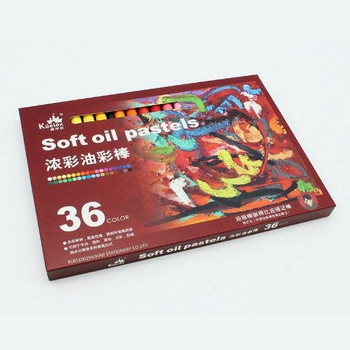 Soft oil pastels 36 colors