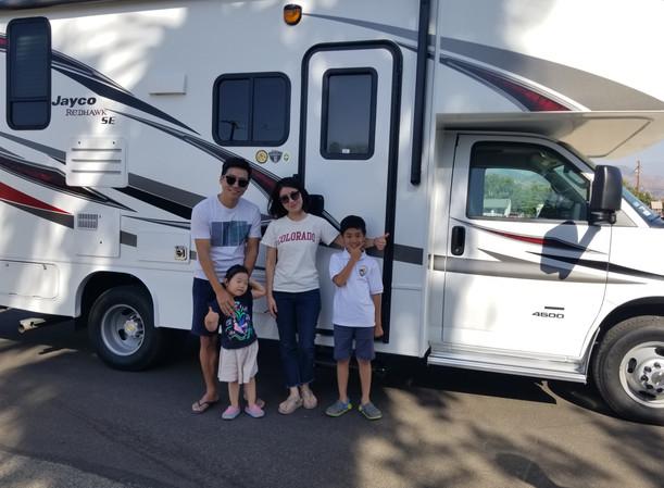 RV Rental Jayco Redhawk Family Camping