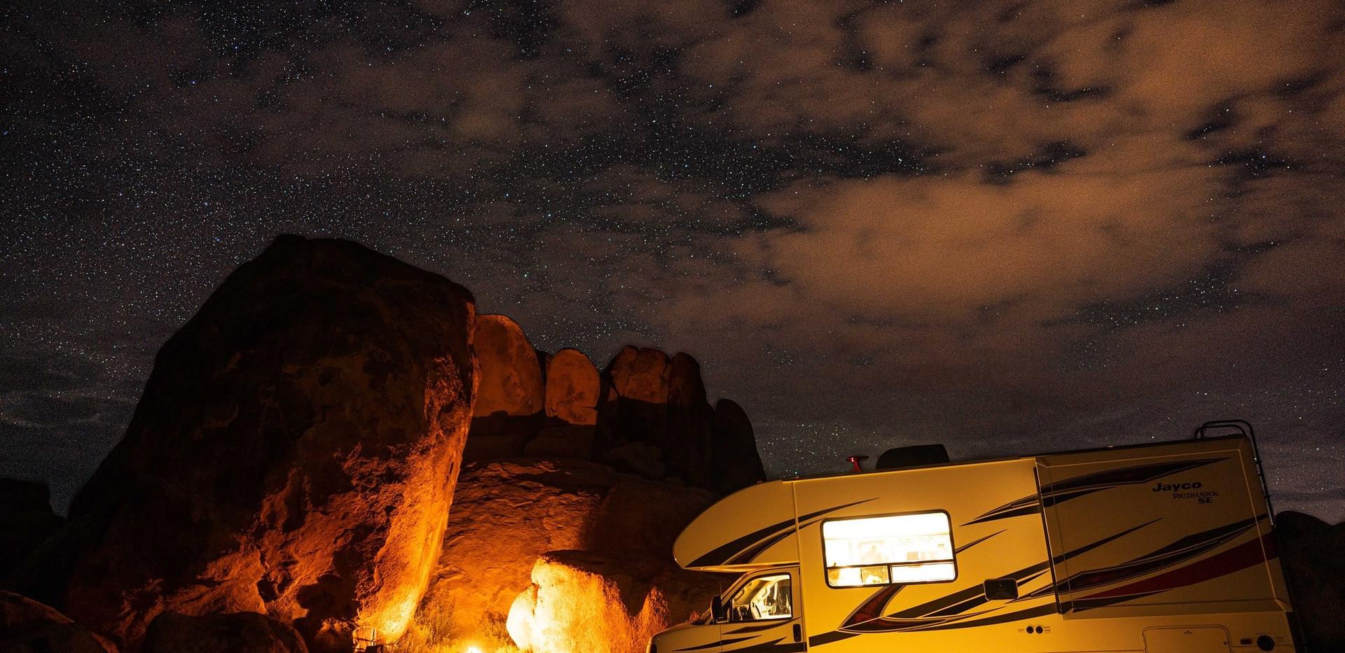 RV Rental Jayco Redhawk Camping