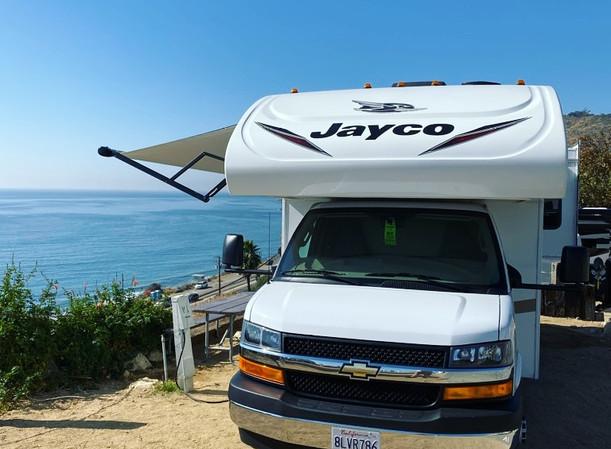 RV Rental Jayco Redhawk Beach Camping