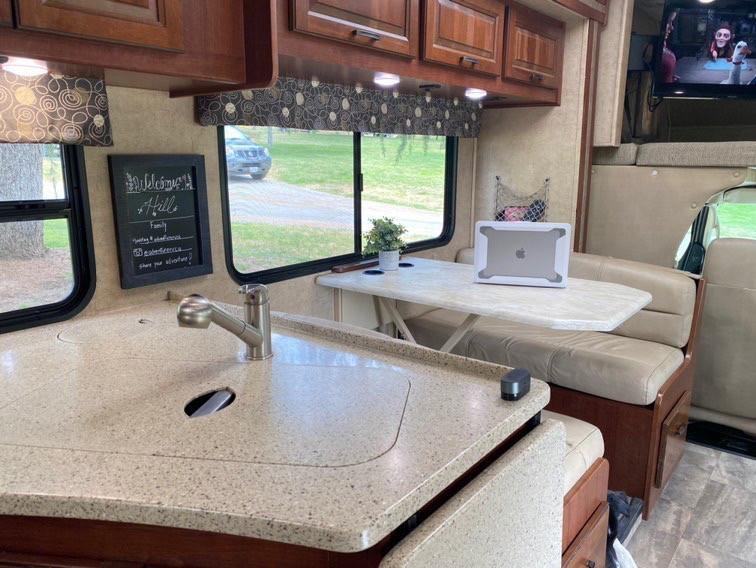 RV Rental Forest River Forester Kitchen Sink