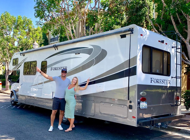 Family RV Rental Forest River Forester
