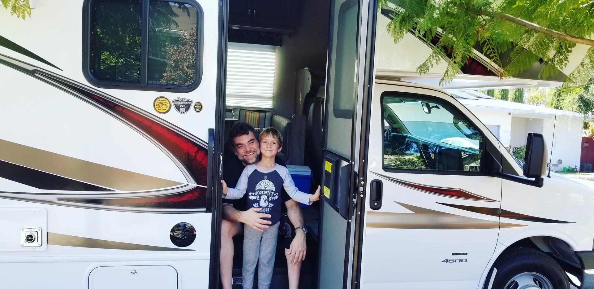 RV Rental Jayco Redhawk Family Trip