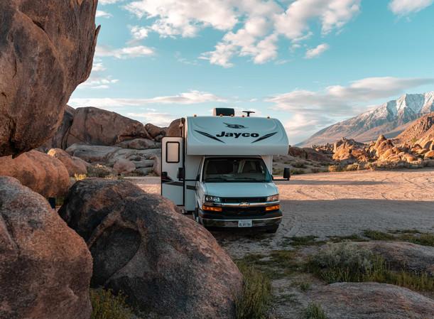 RV Rental Jayco Redhawk Camping Trip