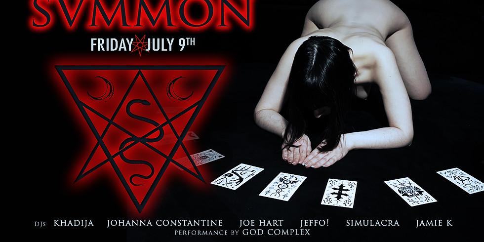 SVMMON ▾ Dark Dance Night