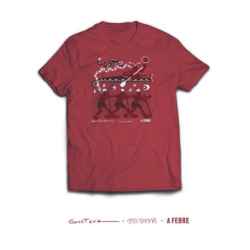 """Camiseta Gustavo Caboco """"A Febre"""""""