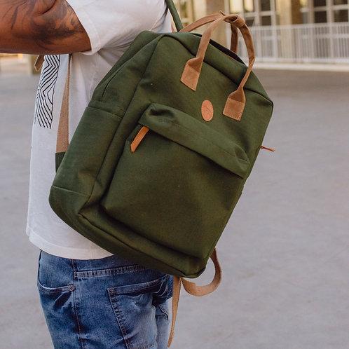 Mochila tamã pack verde