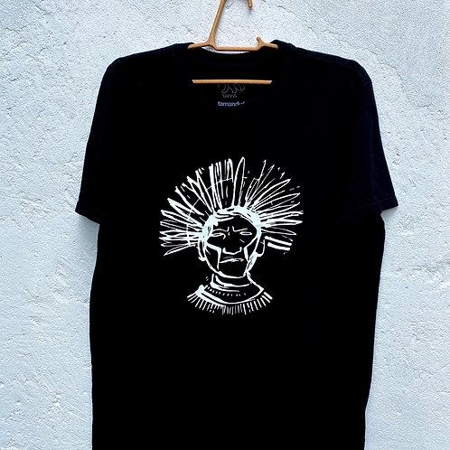 Camiseta Guerreiro por Édson Ikê