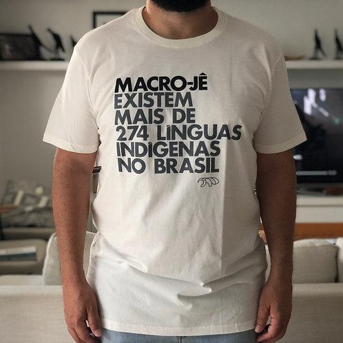 CAMISETA MACRO-JÊ
