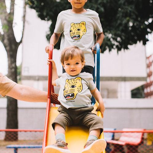 Camiseta infantil jaguatirica por Denilson Baniwa